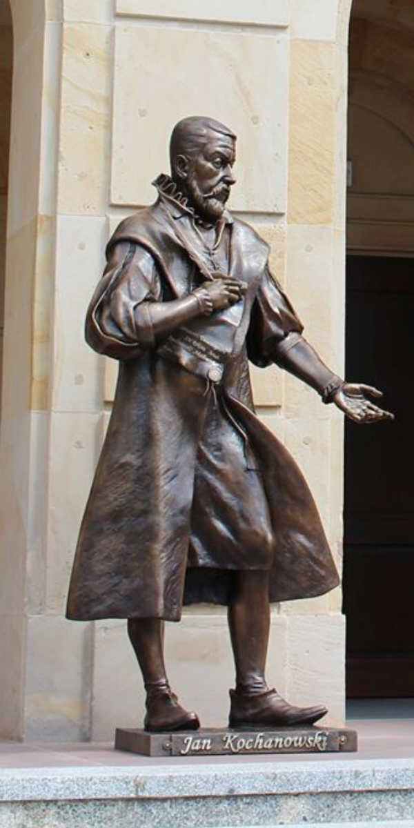 Rzeźba Jan Kochanowski